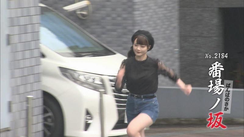 【新谷姫加キャプ画像】ジュニアアイドル出身の可愛いグラドルが全力疾走チャレンジ! 07