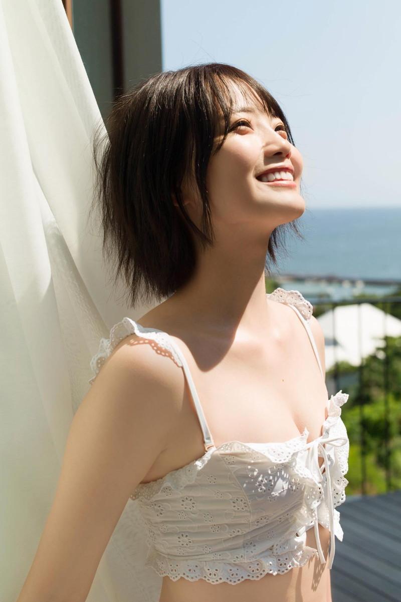 【新谷姫加キャプ画像】ジュニアアイドル出身の可愛いグラドルが全力疾走チャレンジ! 23