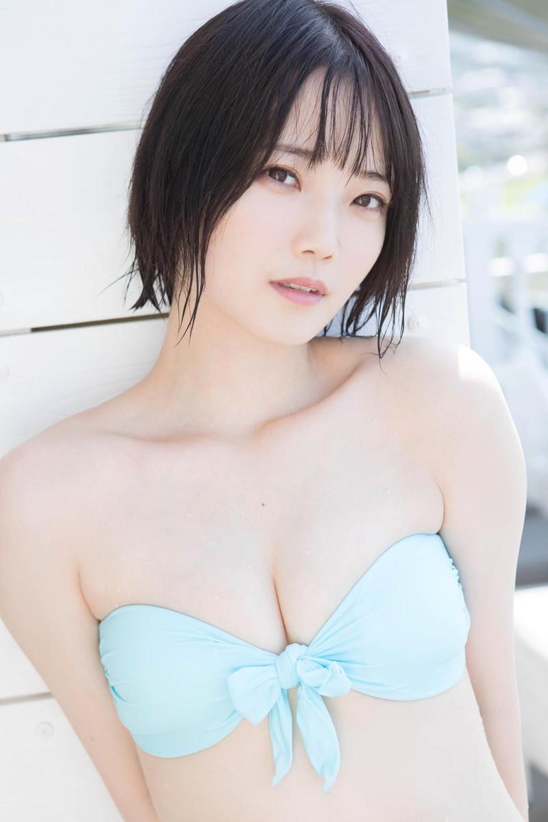 【新谷姫加キャプ画像】ジュニアアイドル出身の可愛いグラドルが全力疾走チャレンジ! 24