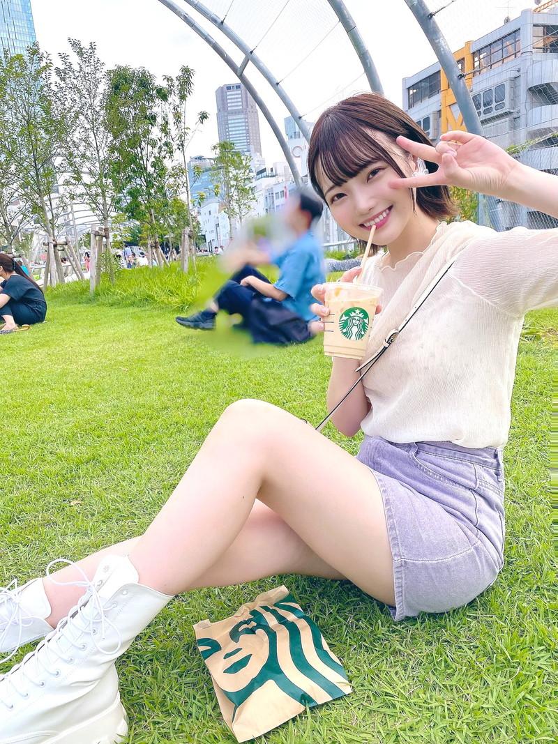 【新谷姫加キャプ画像】ジュニアアイドル出身の可愛いグラドルが全力疾走チャレンジ! 37