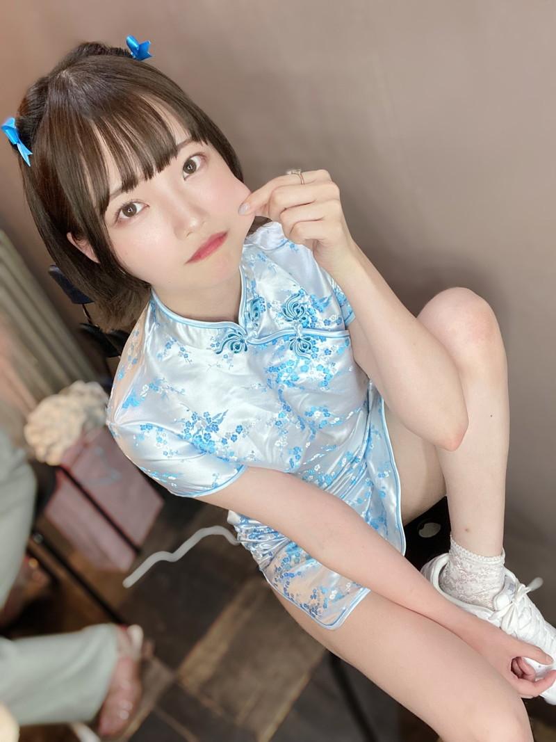 【新谷姫加キャプ画像】ジュニアアイドル出身の可愛いグラドルが全力疾走チャレンジ! 77