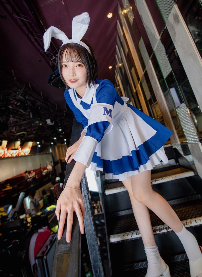 【新谷姫加キャプ画像】ジュニアアイドル出身の可愛いグラドルが全力疾走チャレンジ! 78