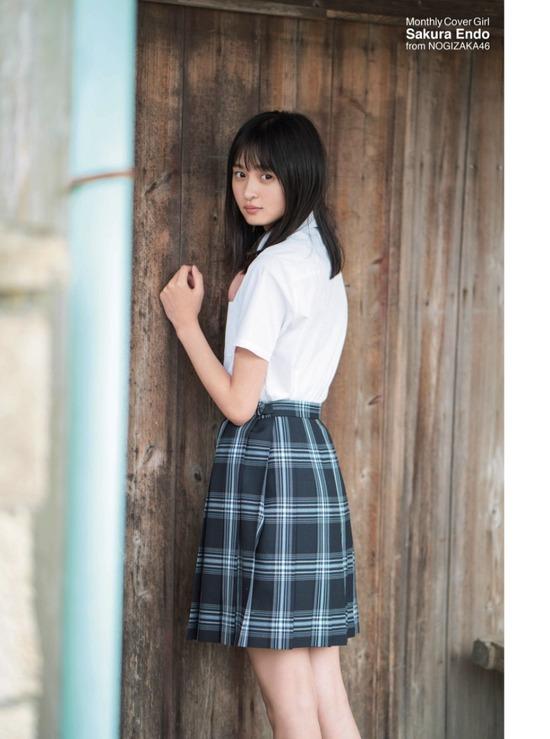 【遠藤さくらキャプ画像】ファッション雑誌の専属モデルに抜擢された乃木坂アイドル 70