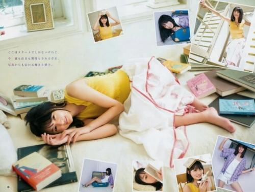 【遠藤さくらキャプ画像】ファッション雑誌の専属モデルに抜擢された乃木坂アイドル 80