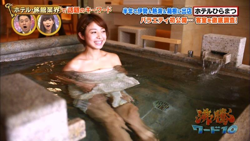 【女子アナハプニング画像】オッパイのラインが出てたりフェラ顔してたりのエロ画像 13