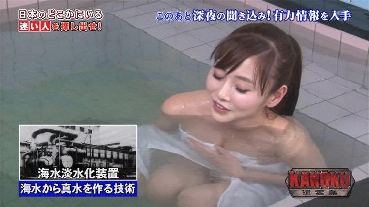 【女子アナハプニング画像】オッパイのラインが出てたりフェラ顔してたりのエロ画像 14