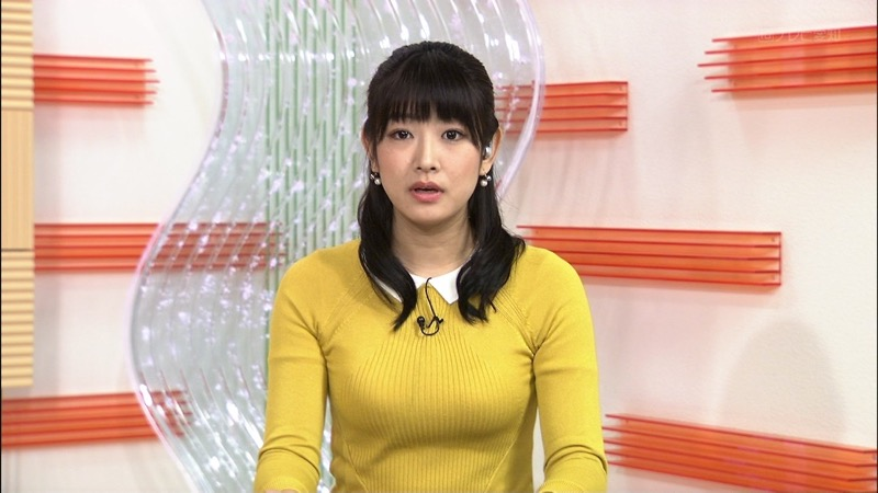 【女子アナハプニング画像】オッパイのラインが出てたりフェラ顔してたりのエロ画像 25