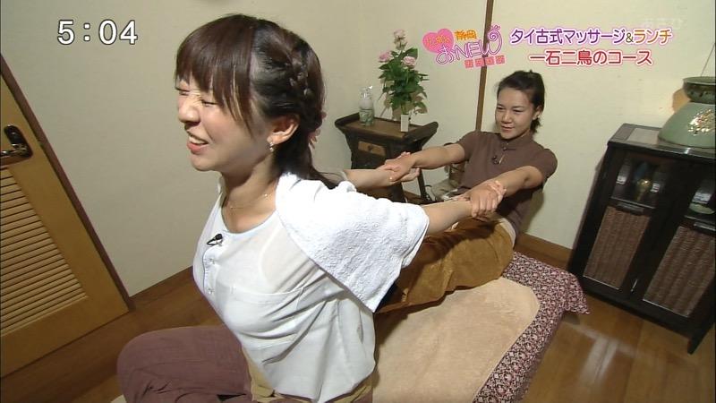 【女子アナハプニング画像】オッパイのラインが出てたりフェラ顔してたりのエロ画像 36