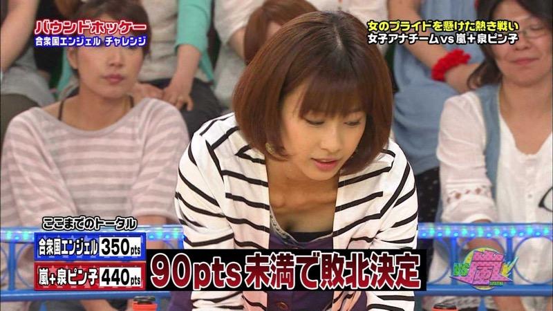 【女子アナハプニング画像】オッパイのラインが出てたりフェラ顔してたりのエロ画像 41