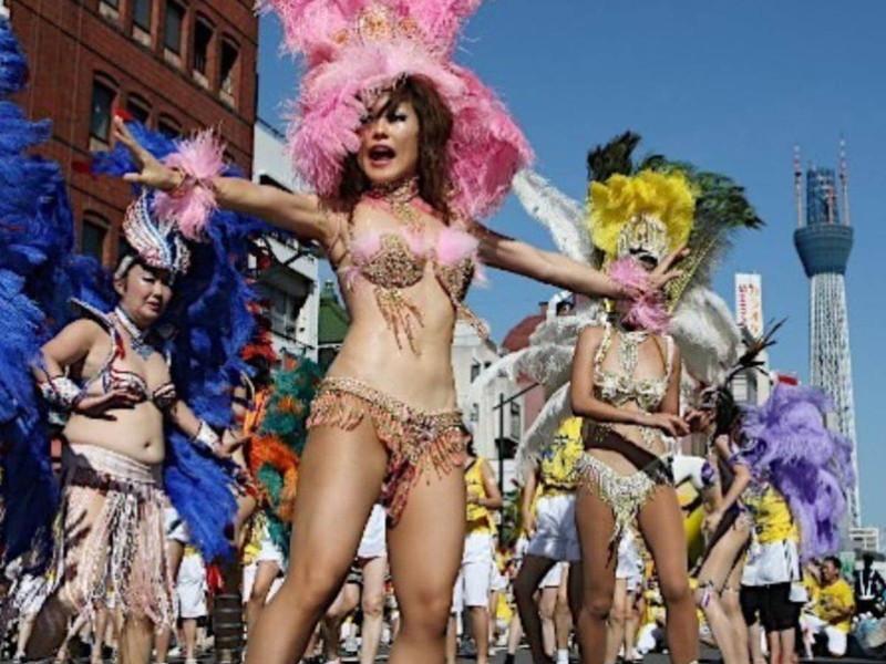 【サンバカーニバルエロ画像】見られたい欲を満たしたくて毎年現れる露出痴女wwww 28