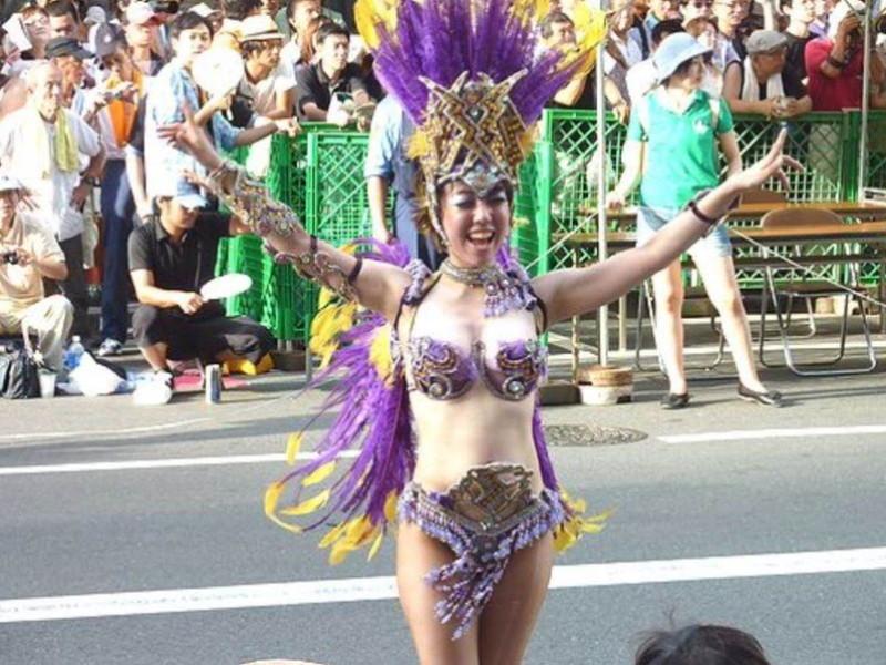 【サンバカーニバルエロ画像】見られたい欲を満たしたくて毎年現れる露出痴女wwww 29