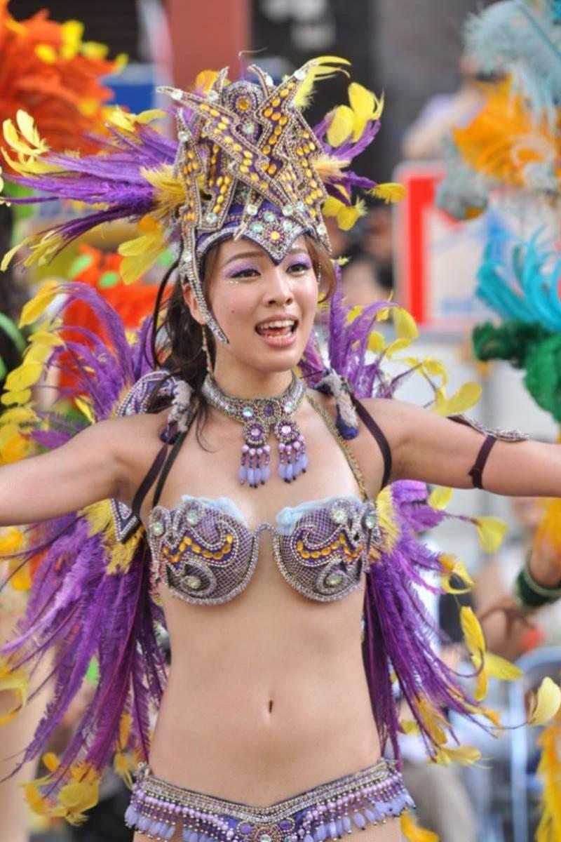 【サンバカーニバルエロ画像】見られたい欲を満たしたくて毎年現れる露出痴女wwww 38