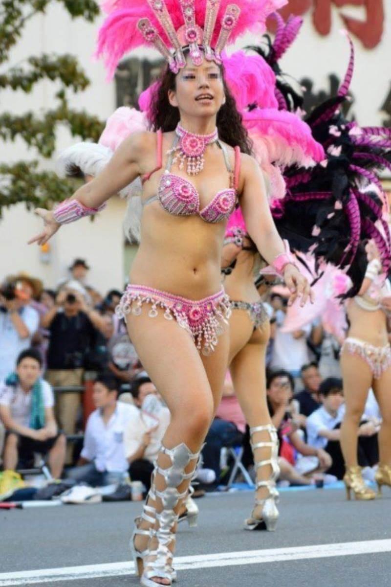 【サンバカーニバルエロ画像】見られたい欲を満たしたくて毎年現れる露出痴女wwww 54