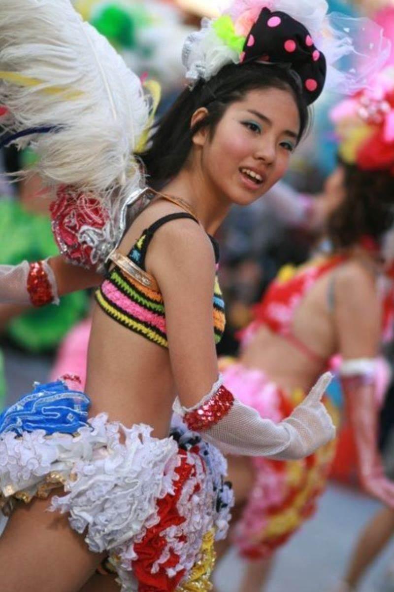 【サンバカーニバルエロ画像】見られたい欲を満たしたくて毎年現れる露出痴女wwww 60