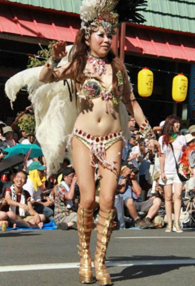 【サンバカーニバルエロ画像】見られたい欲を満たしたくて毎年現れる露出痴女wwww 64