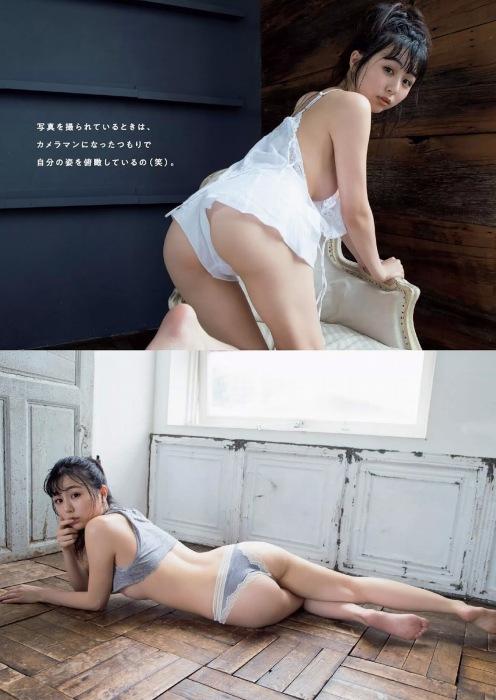 【くりえみグラビア画像】クビレたスレンダー美尻ボディが綺麗でエロい露出痴女 43