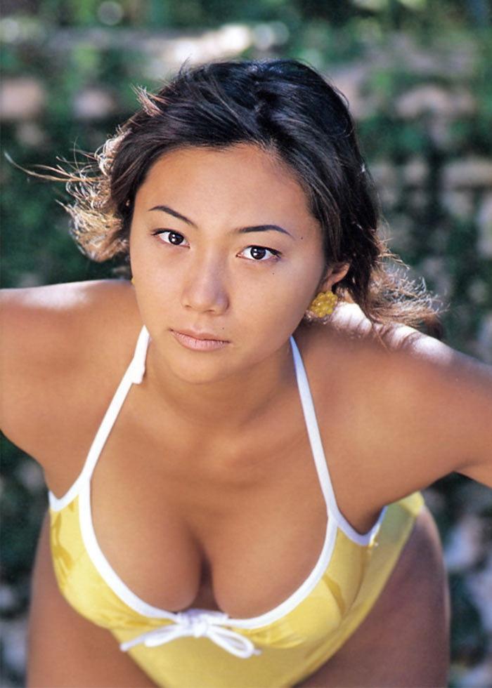 【松田千奈お宝画像】ギルガメでレギュラーしてたセクシーGカップグラドルの現在は? 69