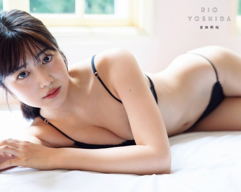【吉田莉桜グラビア画像】アイドルみたいに激かわな美少女モデルのエッチな姿! 19