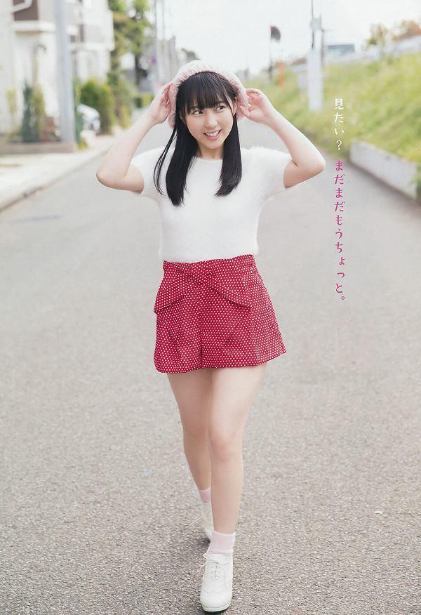 【田中美久エロ画像】水着グラビアでオッパイが大きいと評判のHKT48アイドル 23