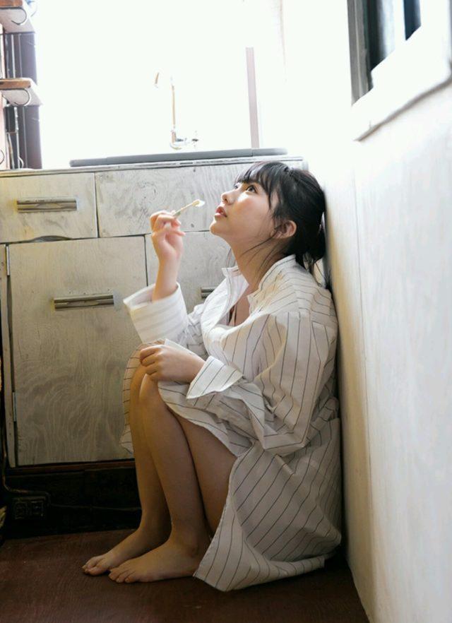 【田中美久エロ画像】水着グラビアでオッパイが大きいと評判のHKT48アイドル 27
