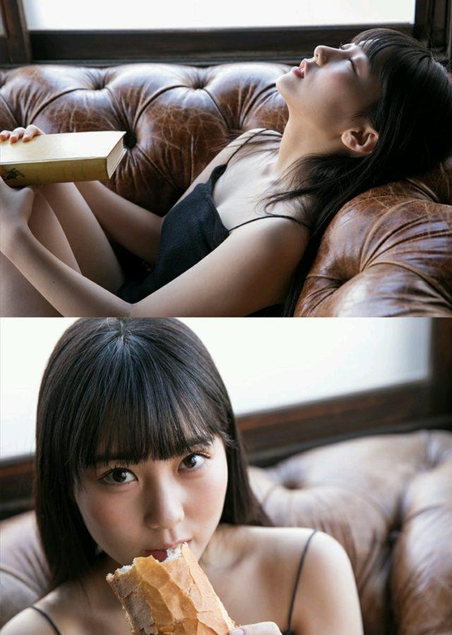 【田中美久エロ画像】水着グラビアでオッパイが大きいと評判のHKT48アイドル 29