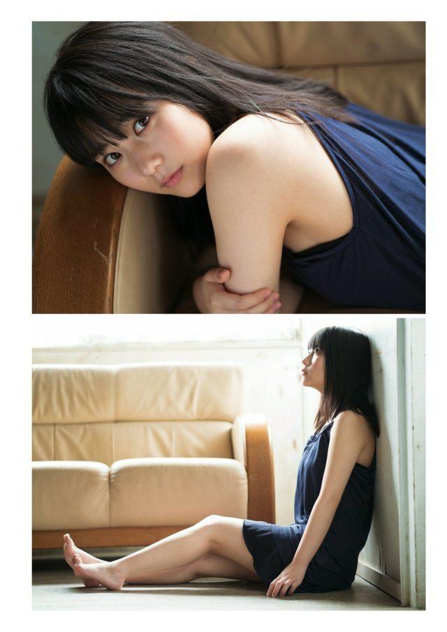 【田中美久エロ画像】水着グラビアでオッパイが大きいと評判のHKT48アイドル 32