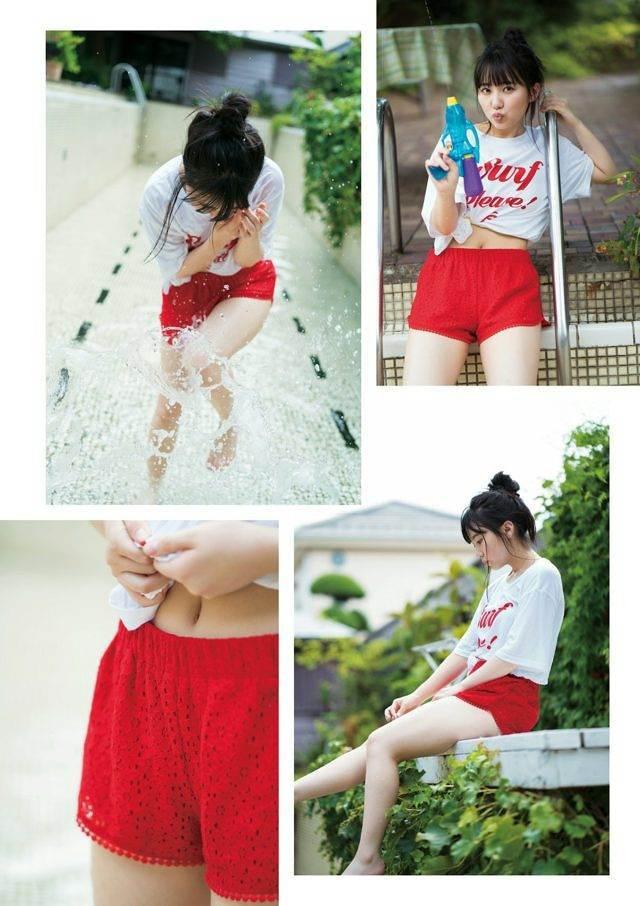 【田中美久エロ画像】水着グラビアでオッパイが大きいと評判のHKT48アイドル 33