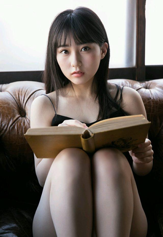 【田中美久エロ画像】水着グラビアでオッパイが大きいと評判のHKT48アイドル 38