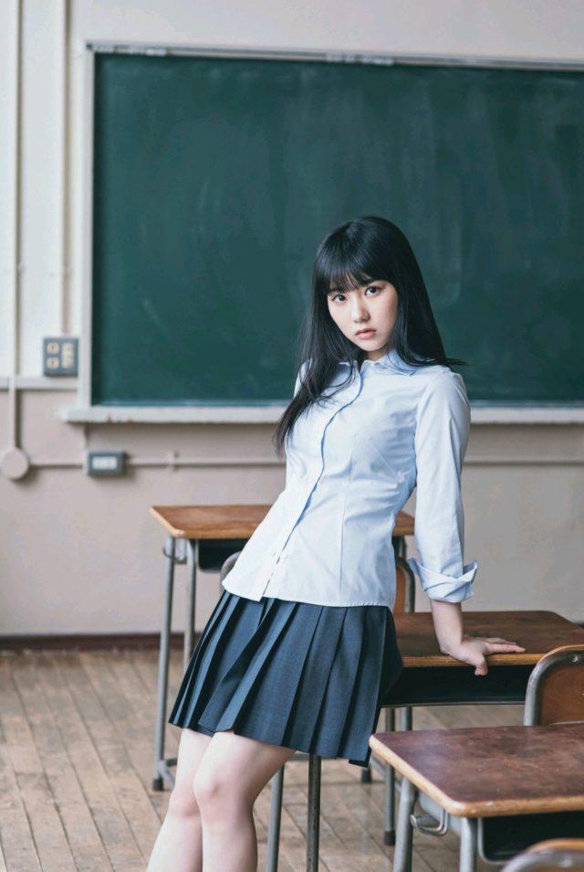 【田中美久エロ画像】水着グラビアでオッパイが大きいと評判のHKT48アイドル 40