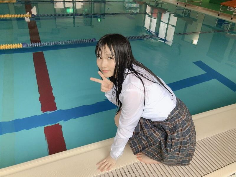【田中美久エロ画像】水着グラビアでオッパイが大きいと評判のHKT48アイドル 77