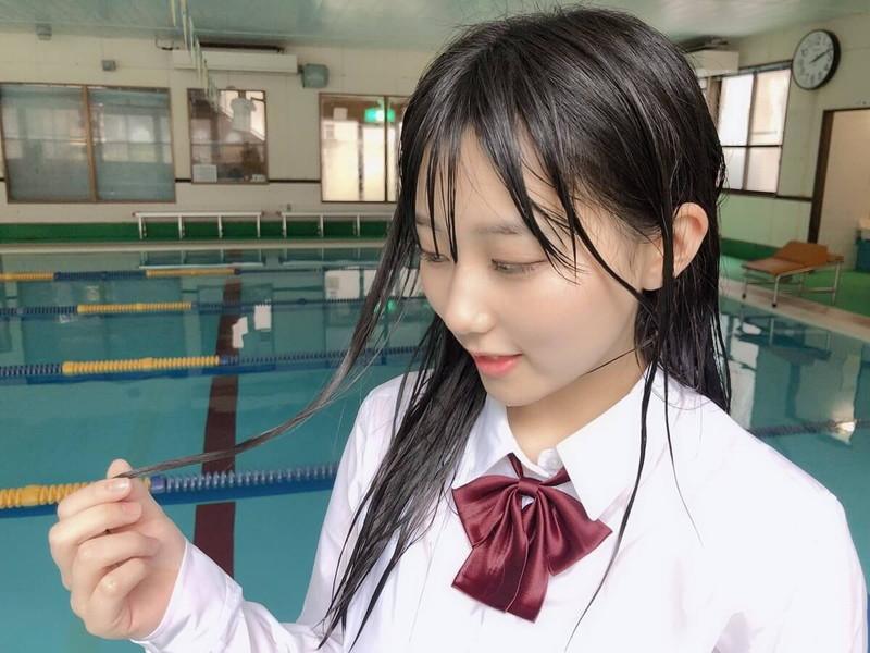【田中美久エロ画像】水着グラビアでオッパイが大きいと評判のHKT48アイドル 78