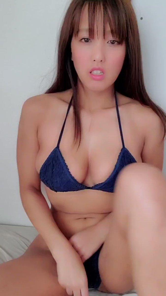 【日里麻美エロ画像】毎朝Gカップ巨乳を見せつける動画を撮ってる痴女グラドル 53