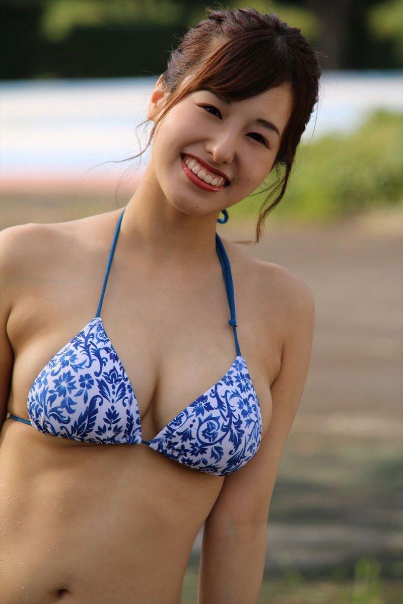 【日里麻美エロ画像】毎朝Gカップ巨乳を見せつける動画を撮ってる痴女グラドル 59