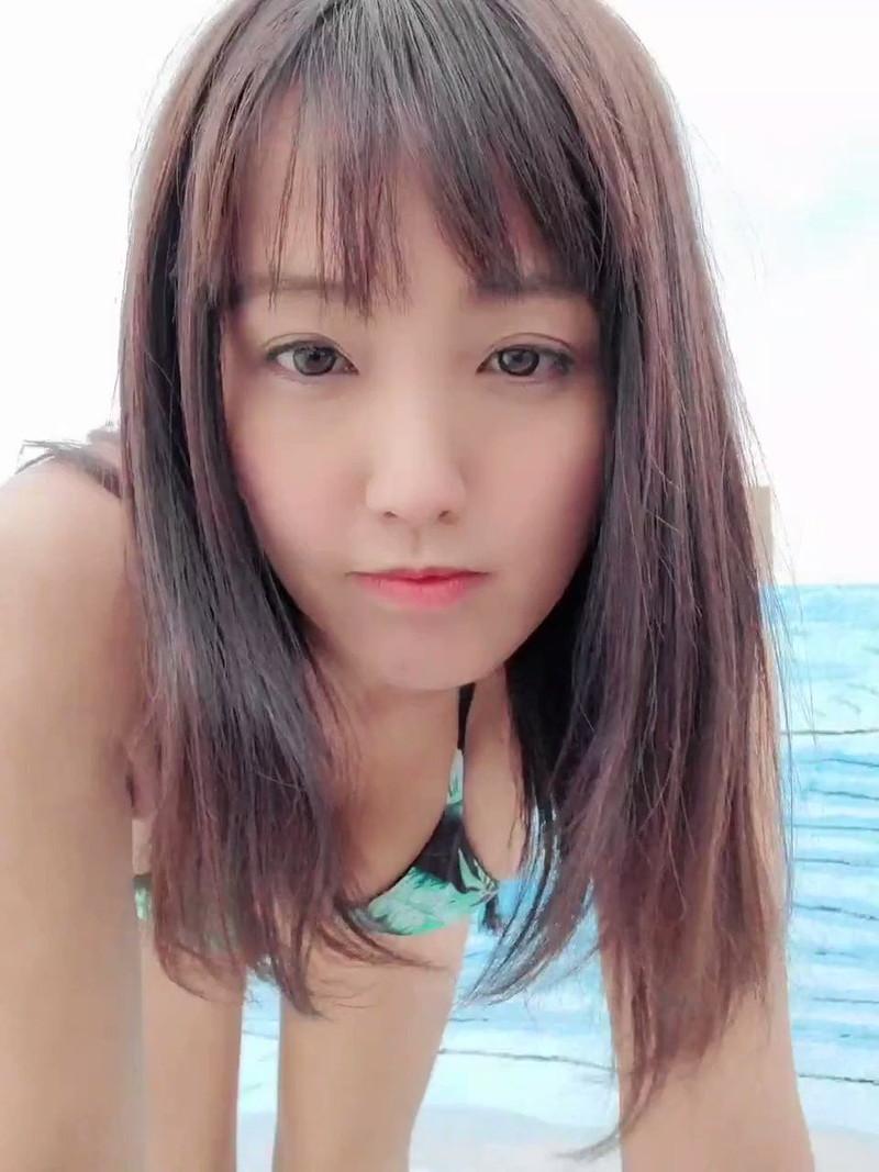 【日里麻美エロ画像】毎朝Gカップ巨乳を見せつける動画を撮ってる痴女グラドル 61
