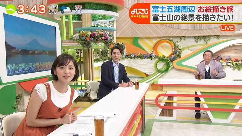 【女子アナキャプ画像】笑顔がとっても可愛らしい田中瞳ちゃんの食レポ! 09