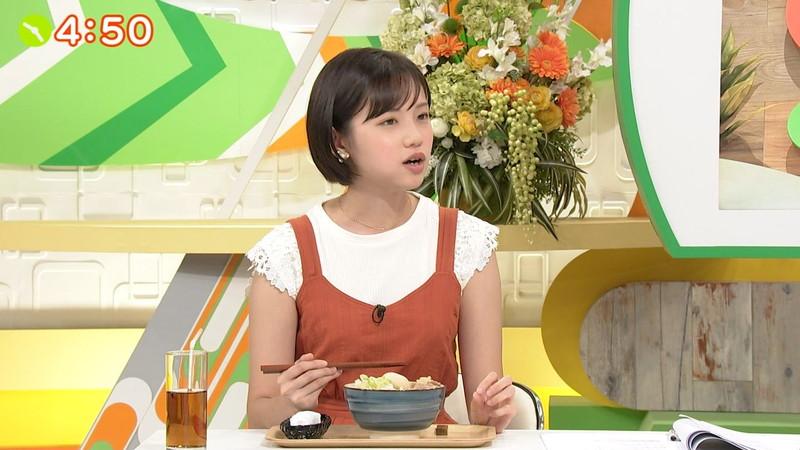 【女子アナキャプ画像】笑顔がとっても可愛らしい田中瞳ちゃんの食レポ! 22