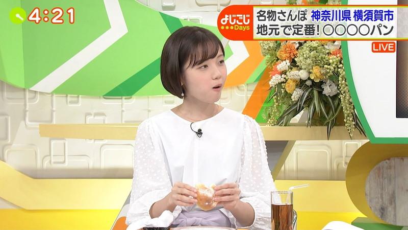 【女子アナキャプ画像】笑顔がとっても可愛らしい田中瞳ちゃんの食レポ! 26