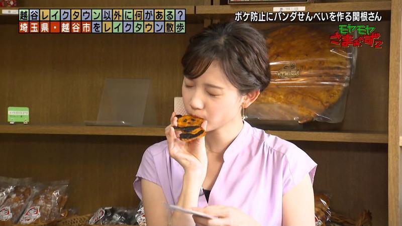 【女子アナキャプ画像】笑顔がとっても可愛らしい田中瞳ちゃんの食レポ! 48