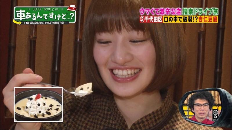 【中田花奈キャプ画像】可愛い乃木坂46アイドルが大口開けて激辛食レポw 19