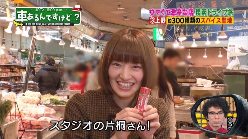 【中田花奈キャプ画像】可愛い乃木坂46アイドルが大口開けて激辛食レポw 35
