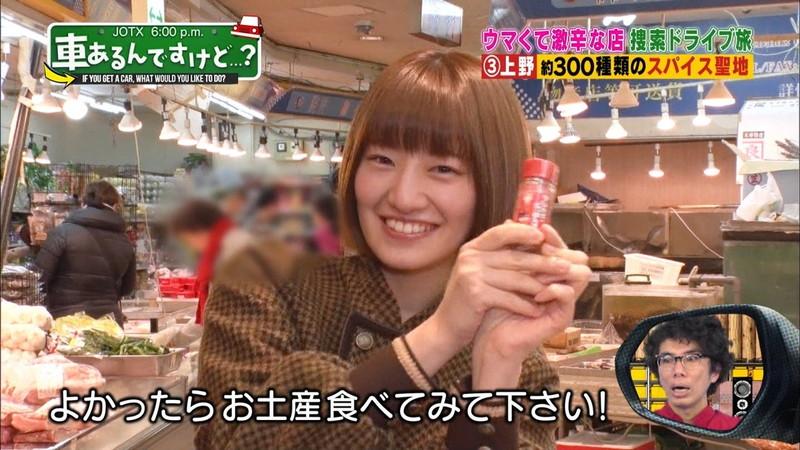 【中田花奈キャプ画像】可愛い乃木坂46アイドルが大口開けて激辛食レポw 36