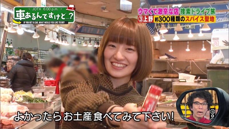 【中田花奈キャプ画像】可愛い乃木坂46アイドルが大口開けて激辛食レポw 37
