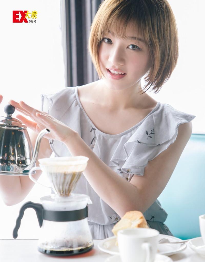 【中田花奈キャプ画像】可愛い乃木坂46アイドルが大口開けて激辛食レポw 54