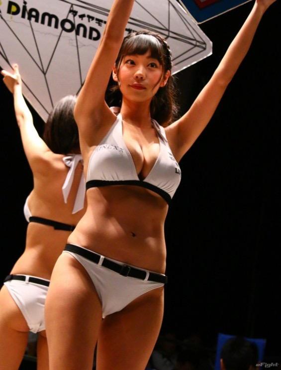 【ラウンドガールエロ画像】露出が高くて美人でエロいラウンドガール美女画像 60