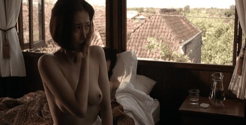 【三津谷葉子濡れ場画像】スタバ面接に合格してたら今頃一般人だったベテラン女優 27