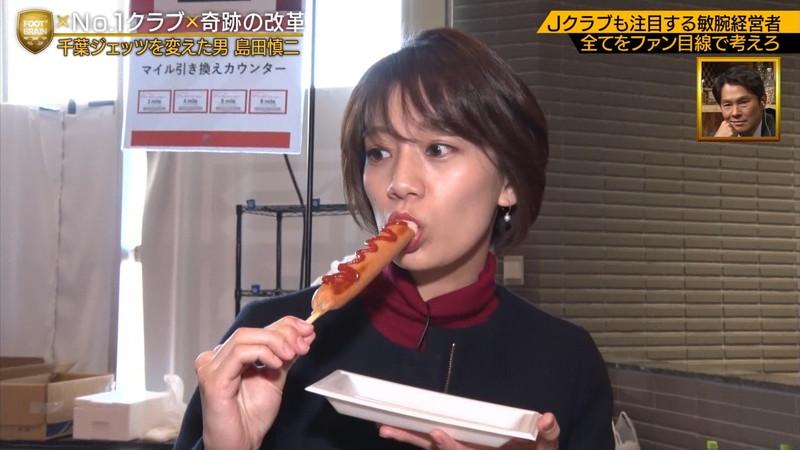 【佐藤美希キャプ画像】専属モデルをしていた美人タレントの大胆な疑似フェラ 04