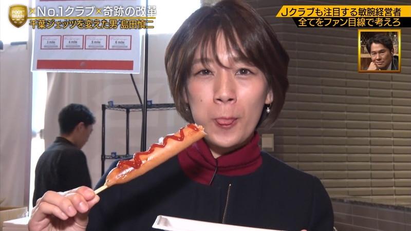【佐藤美希キャプ画像】専属モデルをしていた美人タレントの大胆な疑似フェラ 08