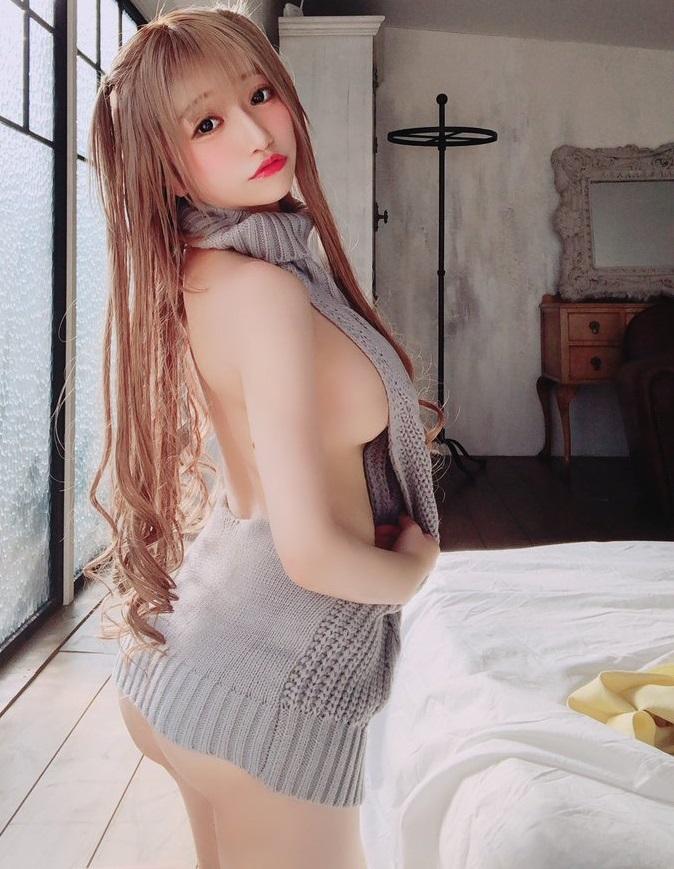 【ふぇりすみにょんエロ画像】アンバランスなミニマム巨乳ボディのエロカワ娘 03