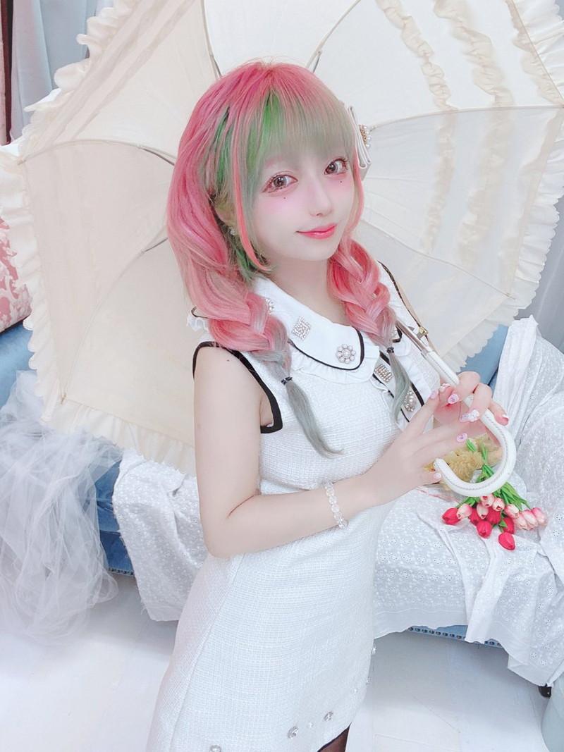 【ふぇりすみにょんエロ画像】アンバランスなミニマム巨乳ボディのエロカワ娘 18