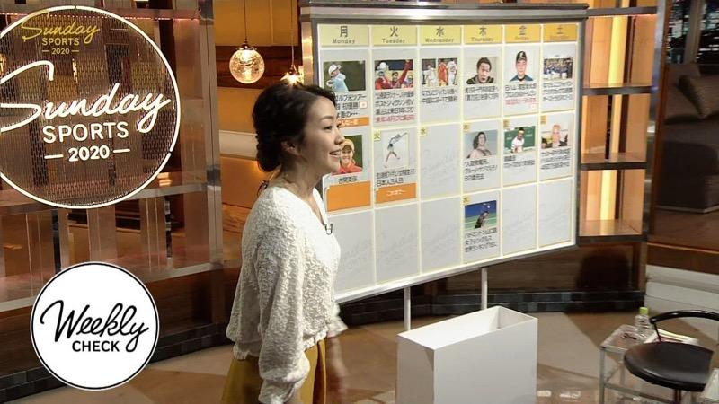 【副島萌生キャプ画像】おっぱいを見るためにNHKを観る人が続出の女子アナ画像 17